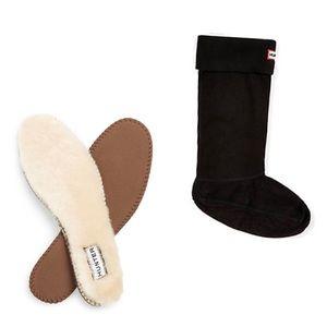 Hunter Fleece Boot Socks & Shearling Inserts